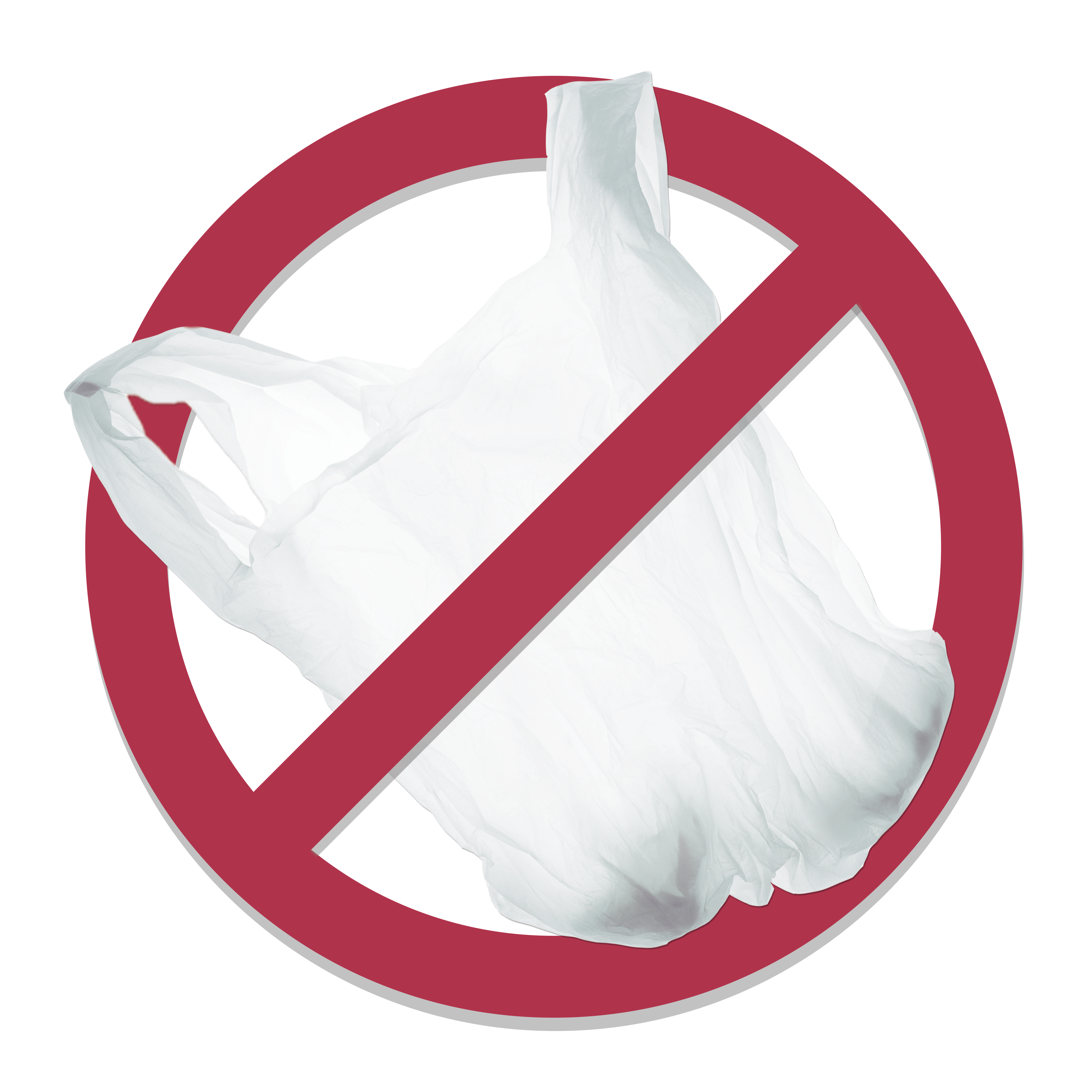 Plastic bags are creating a huge problem. Skip the plastic bags to improve recycling!